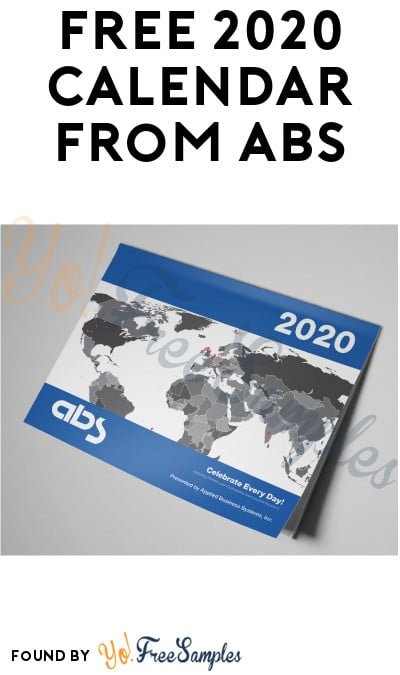 FREE 2020 Calendar from ABS