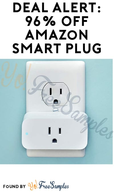 DEAL ALERT: 96% Off Amazon Smart Plug (Select Accounts + Code Required)