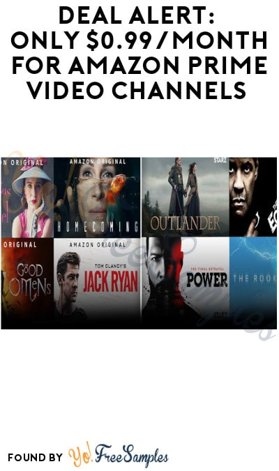DEAL ALERT: Only $0.99/Month for Starz Prime Video Channels – Ends 12/11