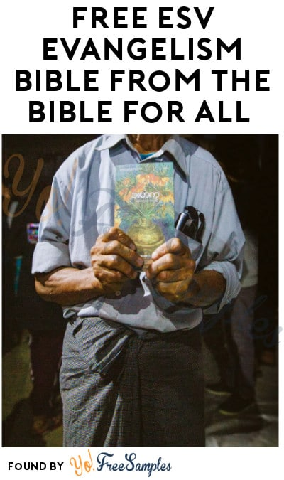 FREE ESV Evangelism Bible from The Bible for All
