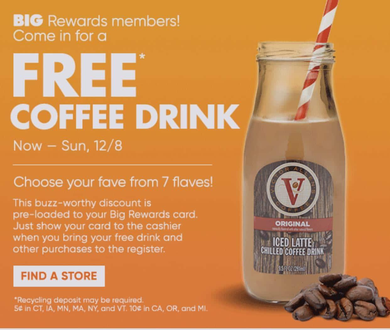 Big Lots Coffee Offer
