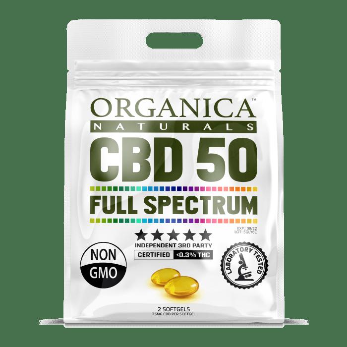 FREE Organica Naturals CBD Sample
