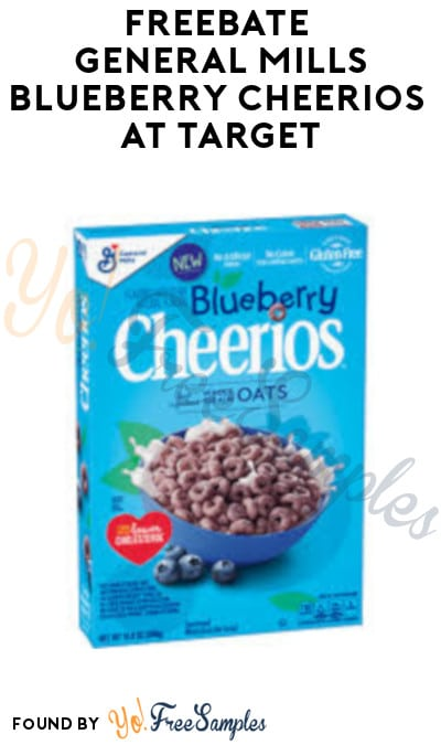 FREEBATE General Mills Blueberry Cheerios at Target (Fetch Rewards Required)