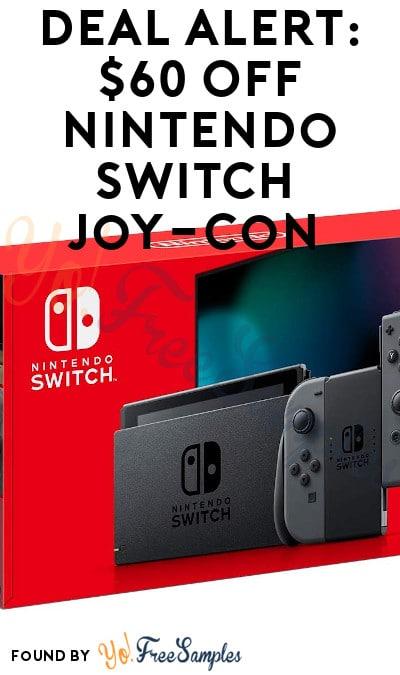 DEAL ALERT: $60 OFF Nintendo Switch Joy-Con (Possible Glitch)