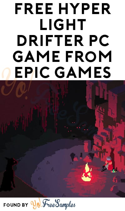 FREE Hyper Light Drifter PC Game from Epic Games (Account Required)