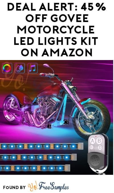 DEAL ALERT: 45% Off Govee Motorcycle LED Lights Kit on Amazon (Code Required)