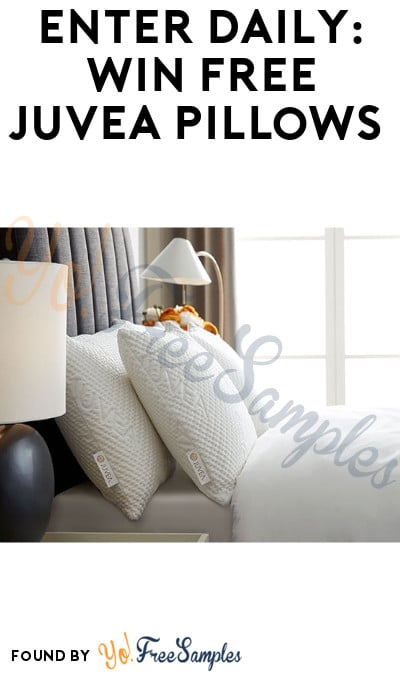 Enter Daily: Win FREE Juvea Pillows (Survey Required)