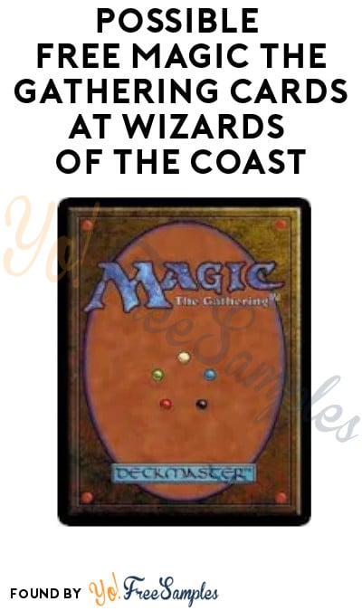 Possible FREE Magic the Gathering Cards at Wizards of The Coast (In-Stores Only)