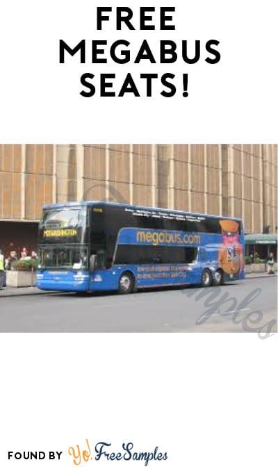First 200,000: FREE Megabus Seats! (Select Routes)
