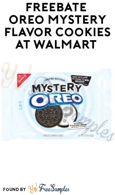 FREEBATE Oreo Mystery Flavor Cookies at Walmart (Ibotta Required)
