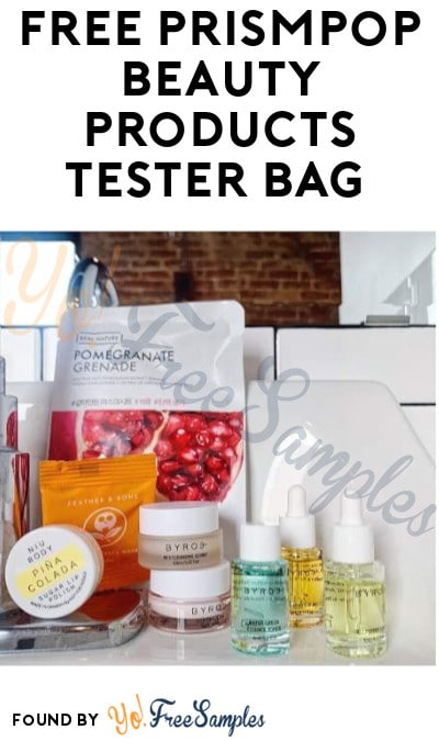 FREE PrismPop Beauty Products Tester Bag (Must Apply + Instagram Required)