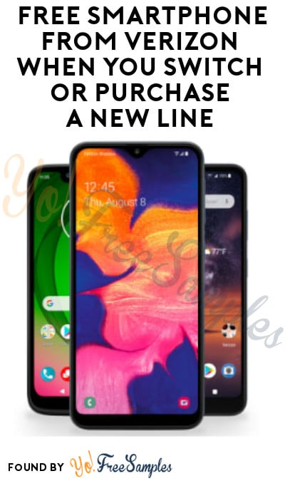 FREE Smartphone from Verizon When You Switch or Purchase a New Line