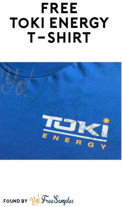 Possible FREE Toki Energy T-Shirt (Facebook Messenger Required)
