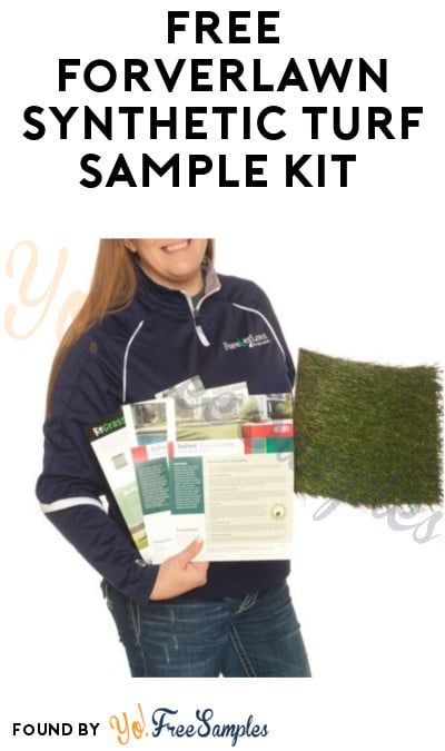 FREE ForverLawn Synthetic Turf Sample Kit