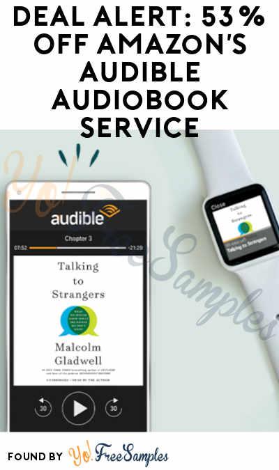 amazon audible deals