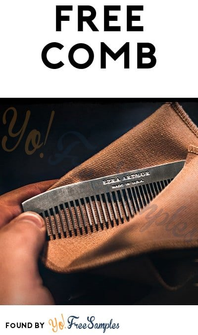 FREE No. 1827 Pocket Comb From FreshCope (21+ Only)