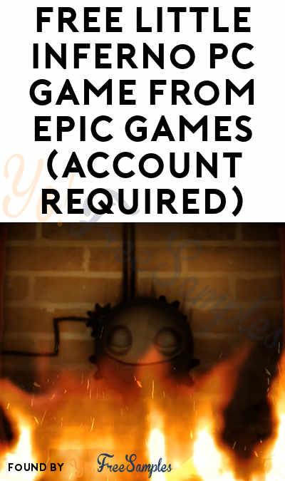 FREE Little Inferno PC Game from Epic Games (Account Required)