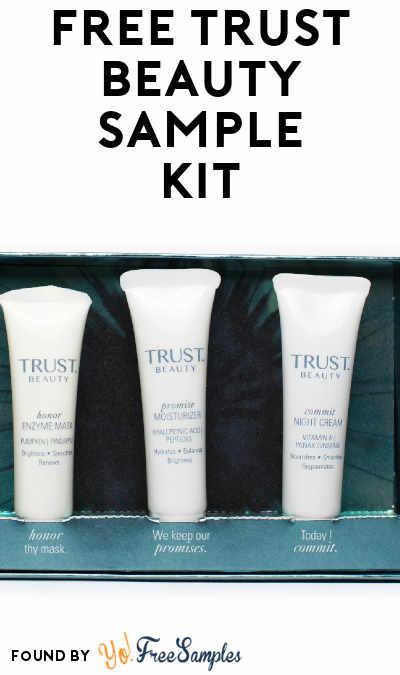 FREE TRUST Beauty Sample Kit