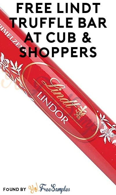 TODAY ONLY: FREE Lindt Truffle Bar At Hornbachers, Shop 'N Save, Shoppers & Cub Stores (Varies By Store)