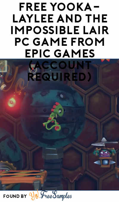 FREE Yooka-Laylee and the Impossible Lair PC Game from Epic Games (Account Required)