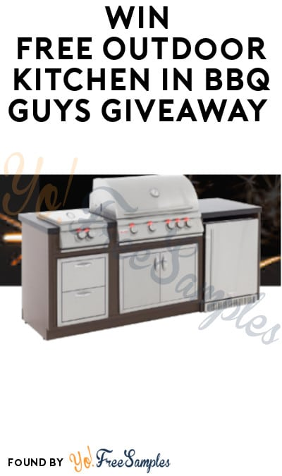 Win FREE Outdoor Kitchen in BBQ Guys Giveaway
