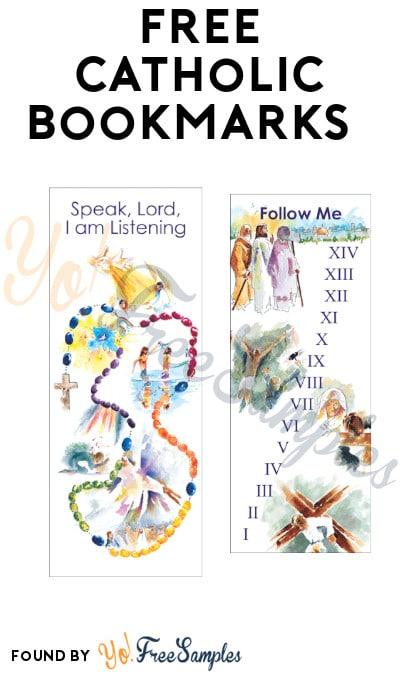 FREE Catholic Bookmarks