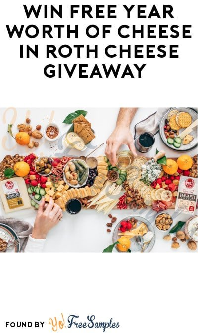 Win FREE Year Worth of Cheese in Roth Cheese Giveaway