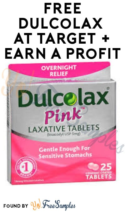 2 FREE Dulcolax at Target + Earn A Profit (Coupon & Ibotta Required)