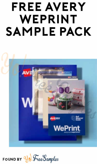 FREE Avery WePrint Sample Pack