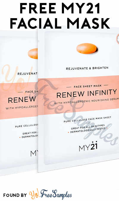 FREE MY21 Facial Mask (Email Required)
