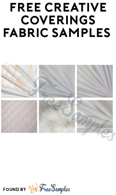 FREE Creative Coverings Fabric Samples