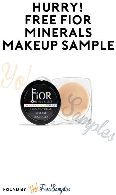 Possible FREE FIOR Minerals Makeup Sample