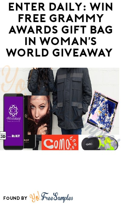 Enter Daily: Win FREE Grammy Awards Gift Bag in Woman's World Giveaway
