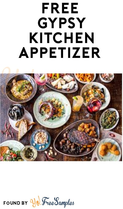 FREE Gypsy Kitchen Appetizer (Atlanta, GA Only + Signup Required)