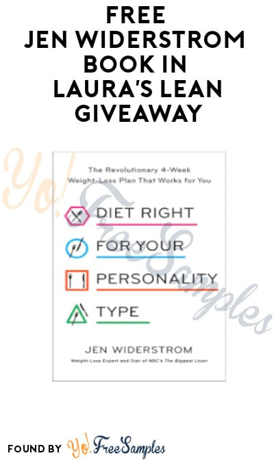 FREE Jen Widerstrom Book in Laura's Lean Giveaway (Email Verification Required)