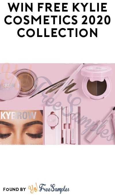 Win FREE Kylie Cosmetics 2020 Collection