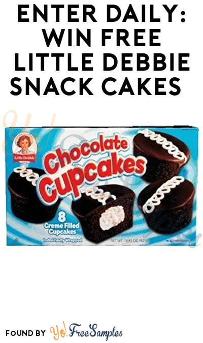 Enter Daily: Win FREE Little Debbie Snack Cakes
