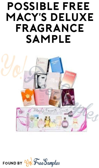 Possible FREE Macy's Deluxe Fragrance Sample or Sample Box (Facebook Required)