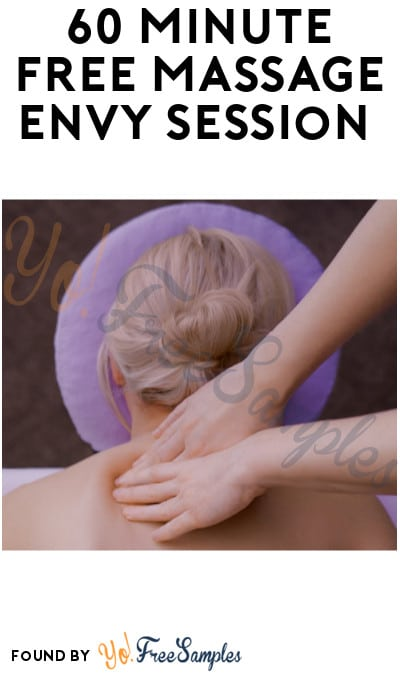 60 Minute FREE Massage Envy Session (With In-Store Membership Sign Up)