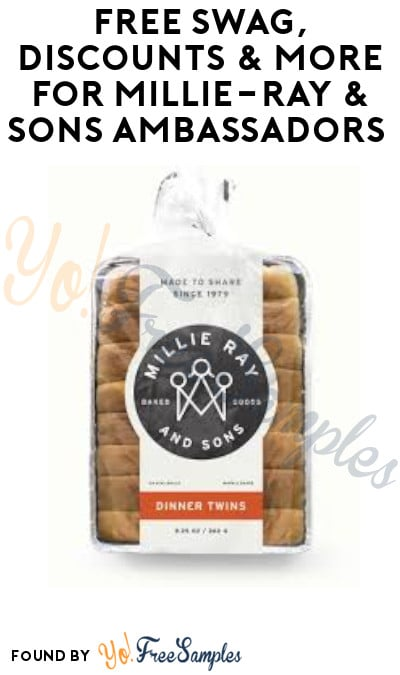 FREE Swag, Discounts & More for Millie-Ray & Sons Ambassadors (Must Apply)