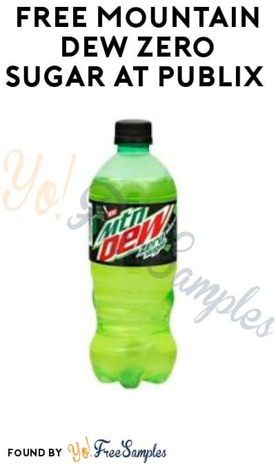 FREE Mountain Dew Zero Sugar at Publix (Account Required)