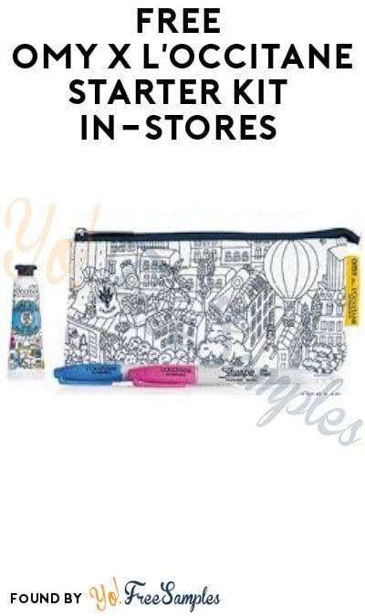 FREE OMY x L'Occitane Starter Kit (In-Store Only)