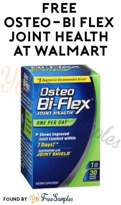 FREE Osteo-Bi Flex Joint Health at Walmart (Coupon & SavingStar Required)