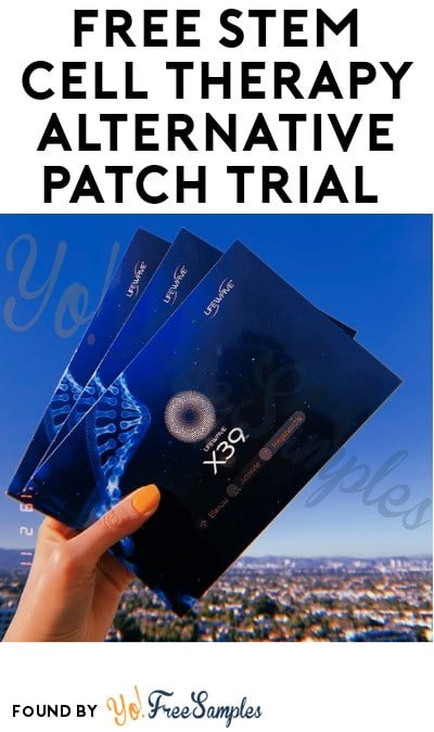 FREE Stem Cell Therapy Alternative Patch Trial