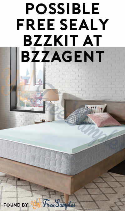 Possible FREE Sealy Product Bzzkit At BzzAgent