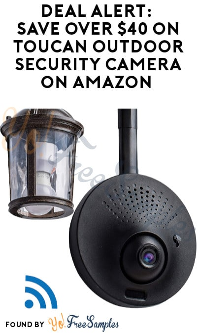 DEAL ALERT: Over $40 OFF Toucan Outdoor Security Camera on Amazon (Clippable Coupon Required)