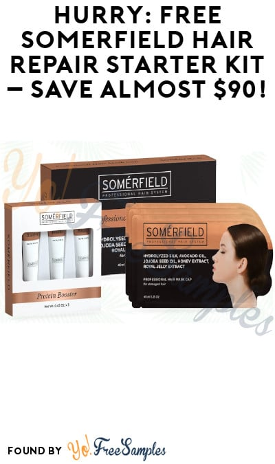 FREE Somèrfield Hair Repair Starter Kit – Save Almost $90! (Credit Card Required)