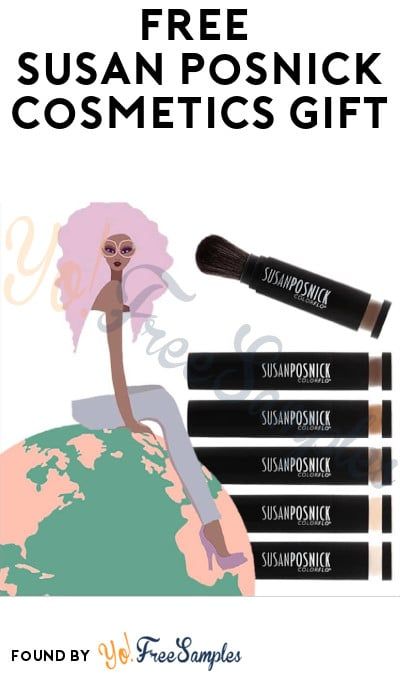 FREE Susan Posnick Cosmetics Gift (Facebook Required)