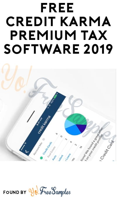 FREE Credit Karma Premium Tax Software 2019 (Federal & State)