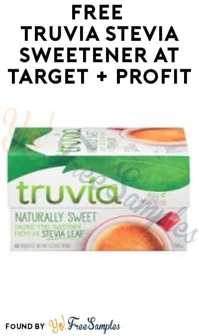 FREE Truvia Stevia Sweetener at Target + Profit (Coupon and Ibotta Required)